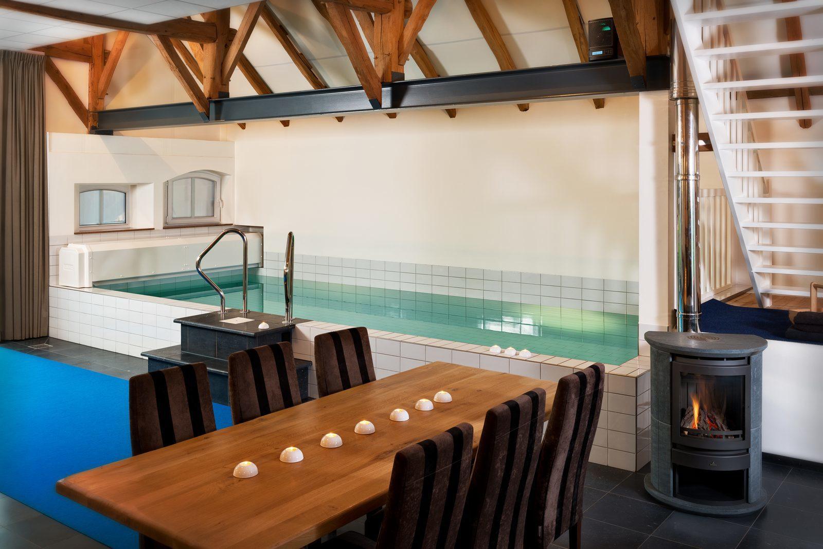 Nederland, Gelderland, Aalten, vakantiehuis, luxe, wellness, zwembad, sauna, jacuzzi