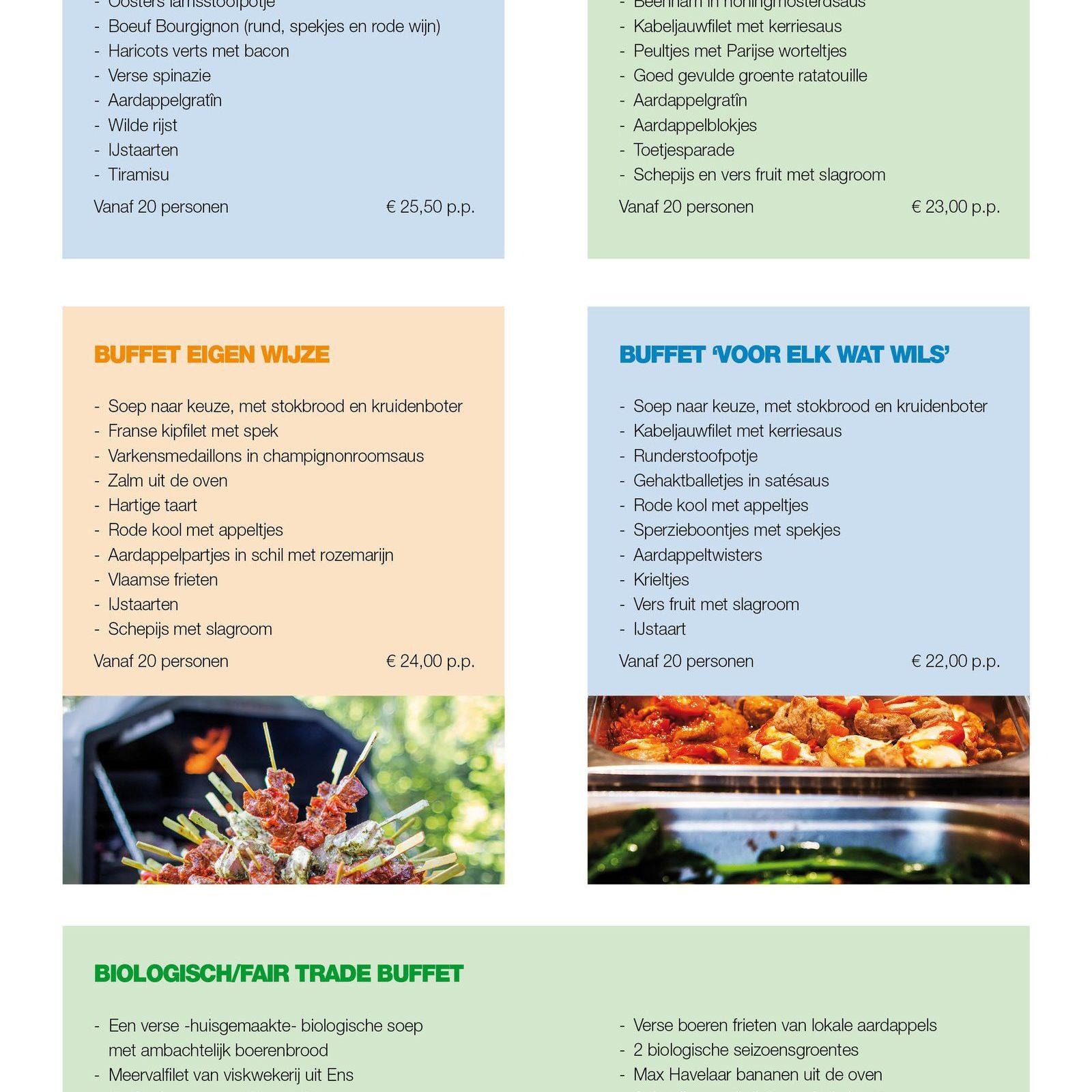Cateringlijst pagina 2