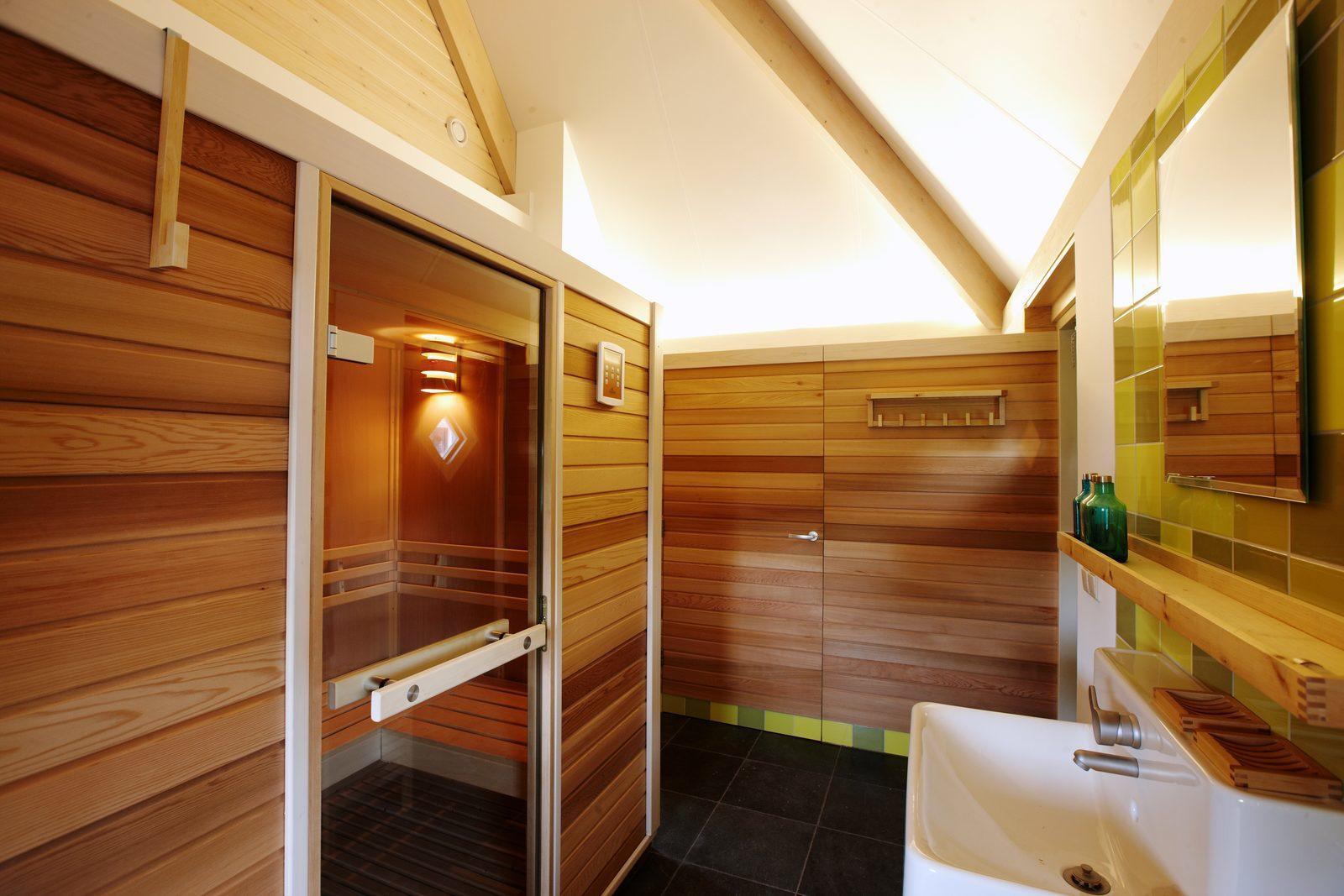 Nederland, Overijssel, Hellendoorn, vakantiehuis, luxe, sauna, weekendje weg