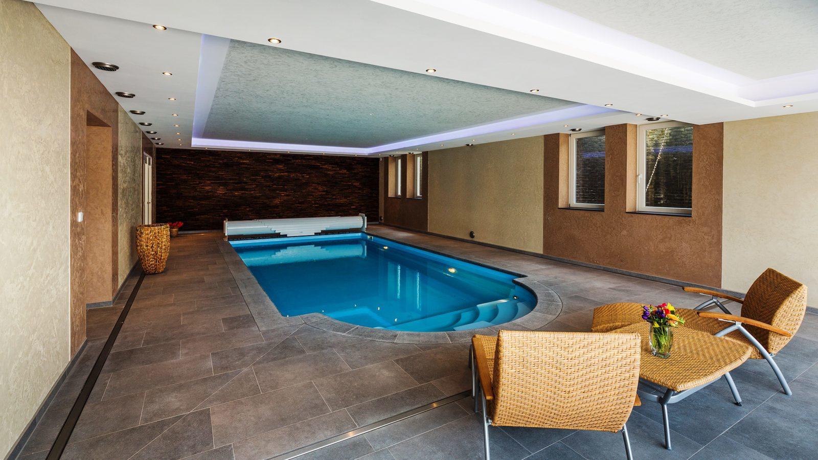 Nederland, Limburg, Schweiberg, luxe, vakantievilla, wellness, zwembad, sauna, weekendje weg