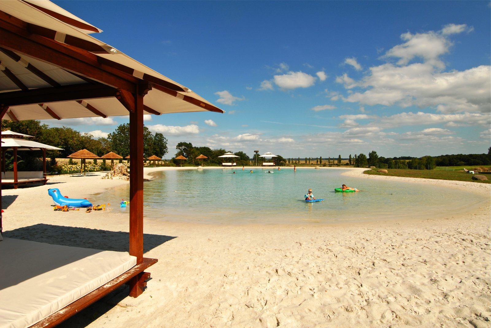 Frankrijk, Charente Maritime, Saint Just-Luzac, kleinschalig, vakantiepark, luxe, villa's, zwembad