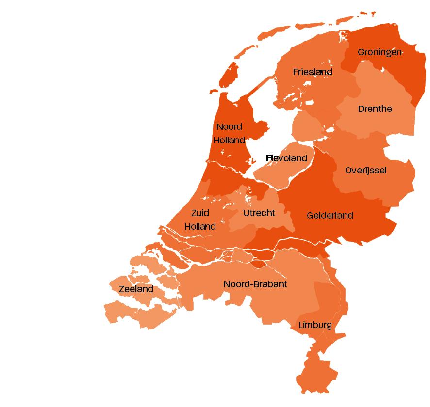 Nederlands kaartje