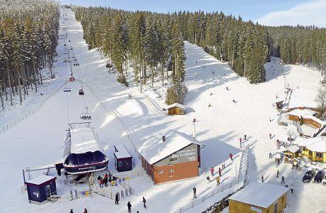 Ski area Sternstein