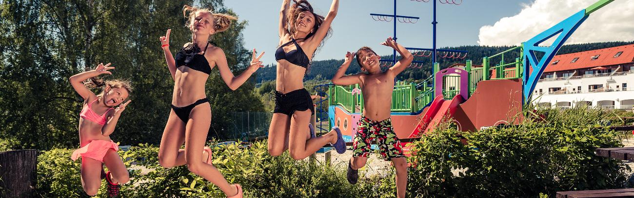 Rodiny s dětmi Lipno Lake Resort