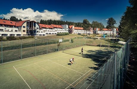 Multifunctioneel sportveld en minigolf