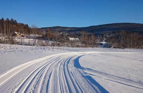 Cross-country ski area Lipno - Frymburk