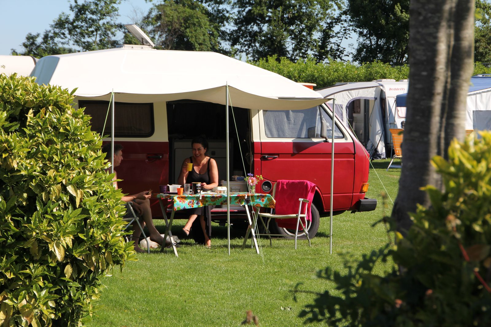 "Iain R ""Well kept campsite central for sight seeing!"""