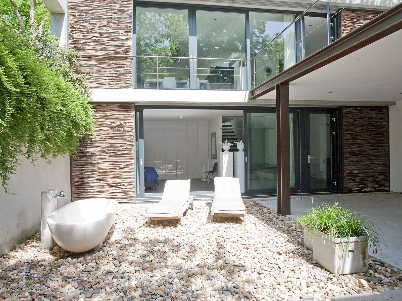 Nederland, Brabant, vakantiehuis, natuur, golfbaan Bergvliet, luxe, design, modern