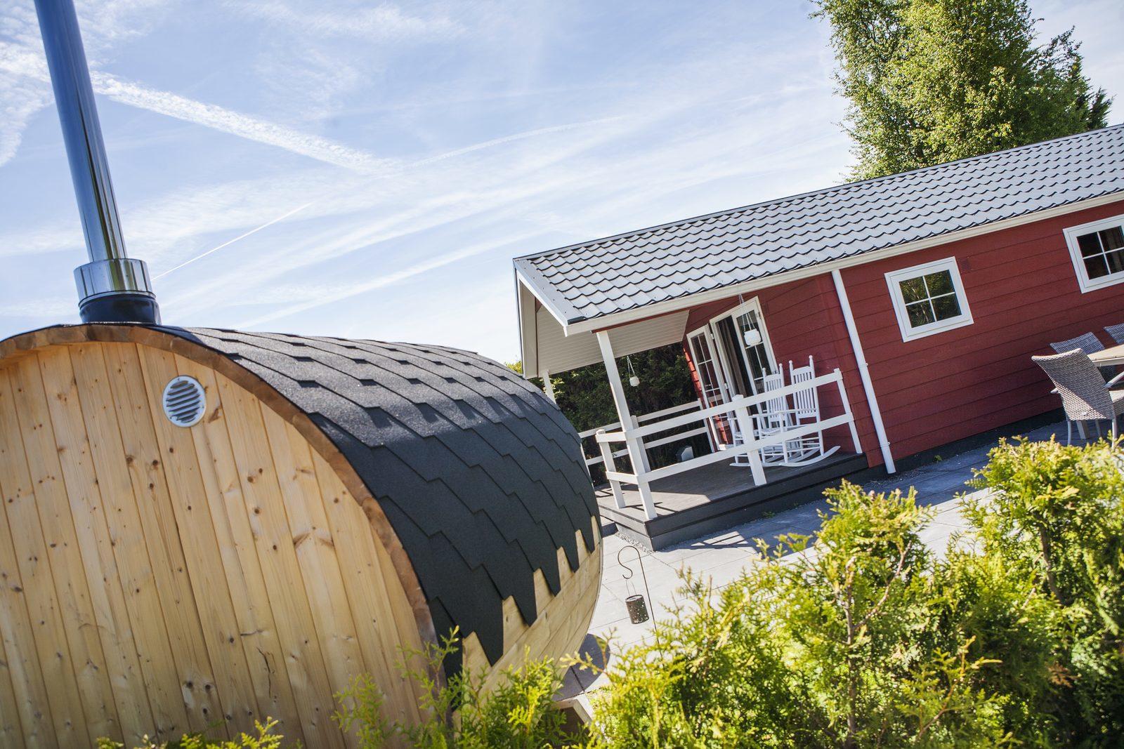 6-persoons Veluwelounge met wellness op de Veluwe | Recreatiepark De Boshoek