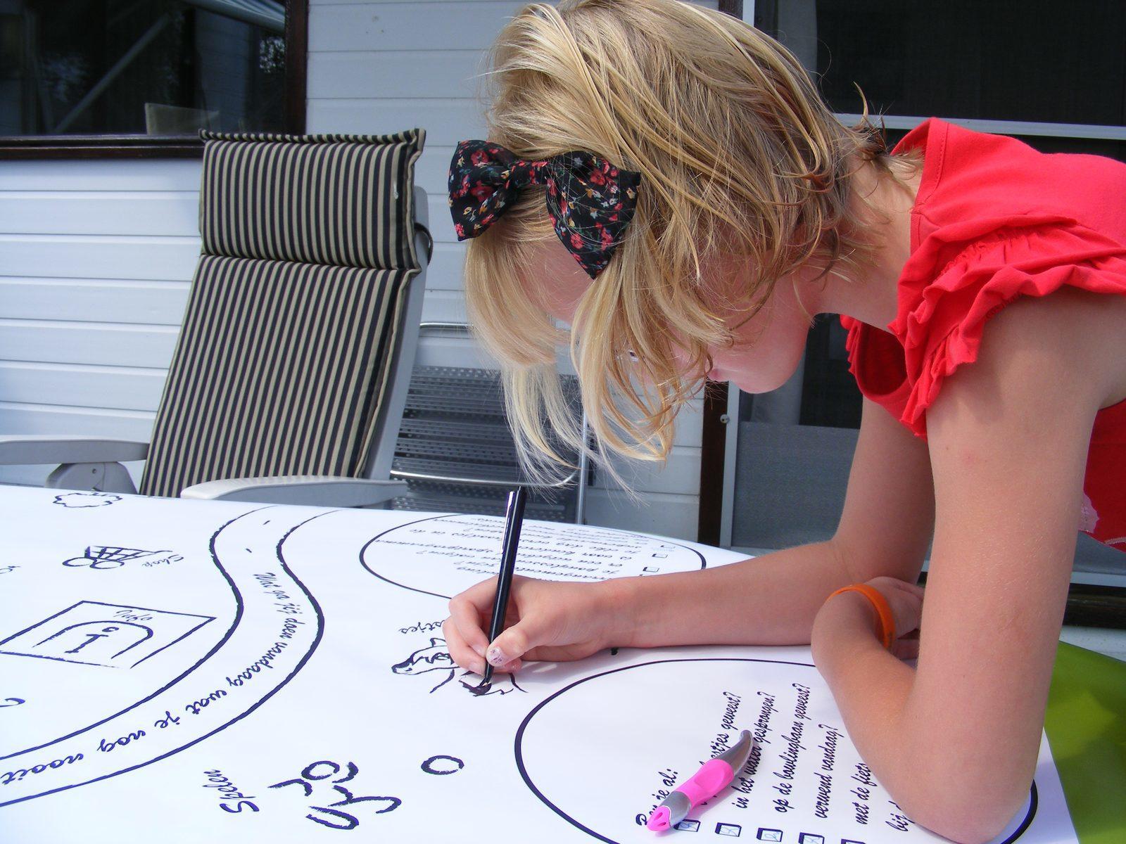 Vakantiecoach tafelkleed tijdens vakantie - optimaal genieten | Recreatiepark De Boshoek
