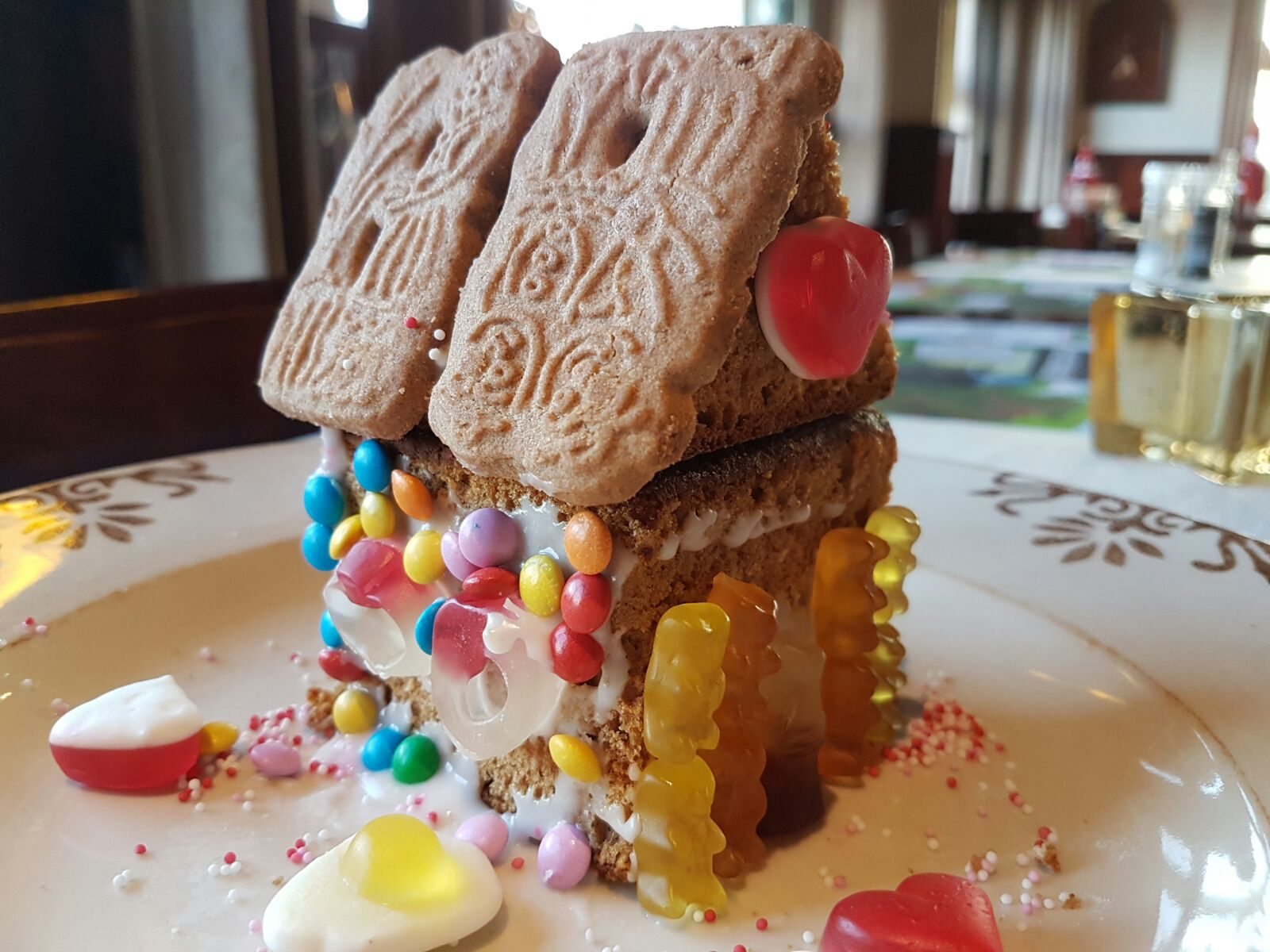 Snoephuisje maken tijdens kinderfeestje in Voorthuizen