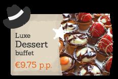 Boek als extratje Luxe Dessert bij een activiteit op Recreatiepark De Boshoek