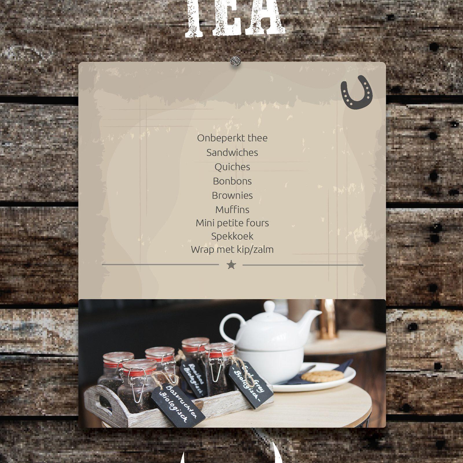 High Tea in Voorthuizen gezellig met Bowling bij De Boshoek