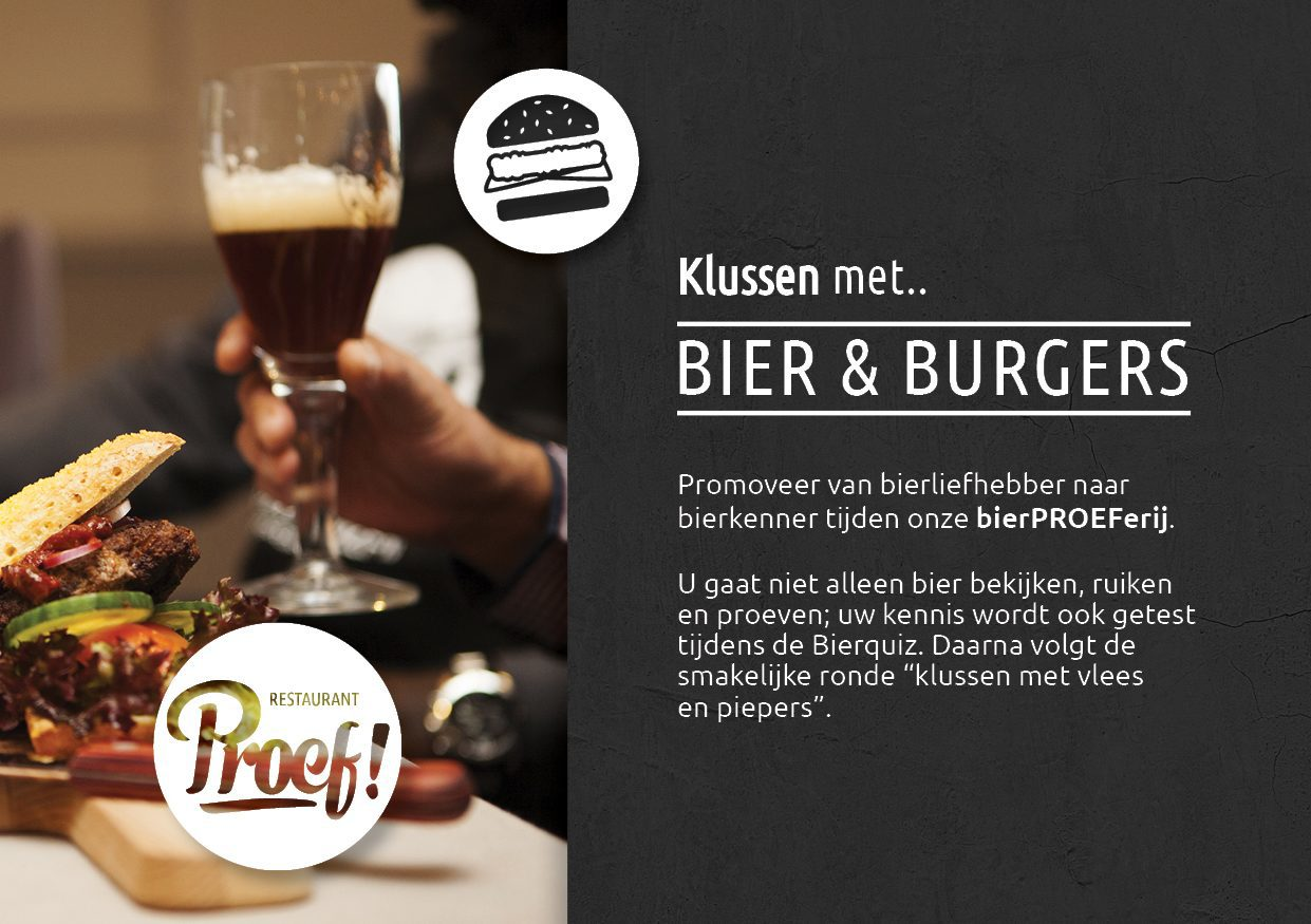 Kookworkshop Klussen met Bier & Burgers in Voorthuizen bij De Boshoek