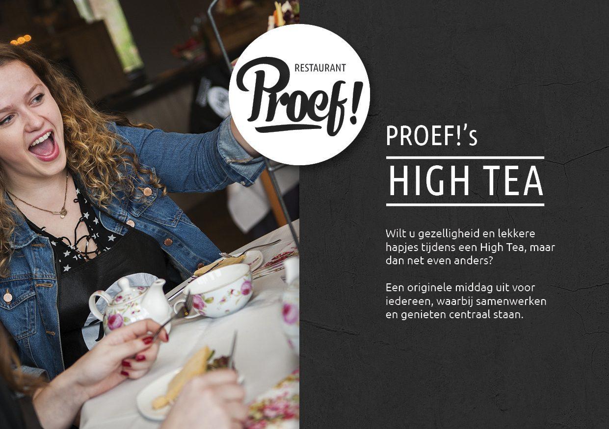 High Tea Kookworkshop in Voorthuizen bij Proef! De Boshoek