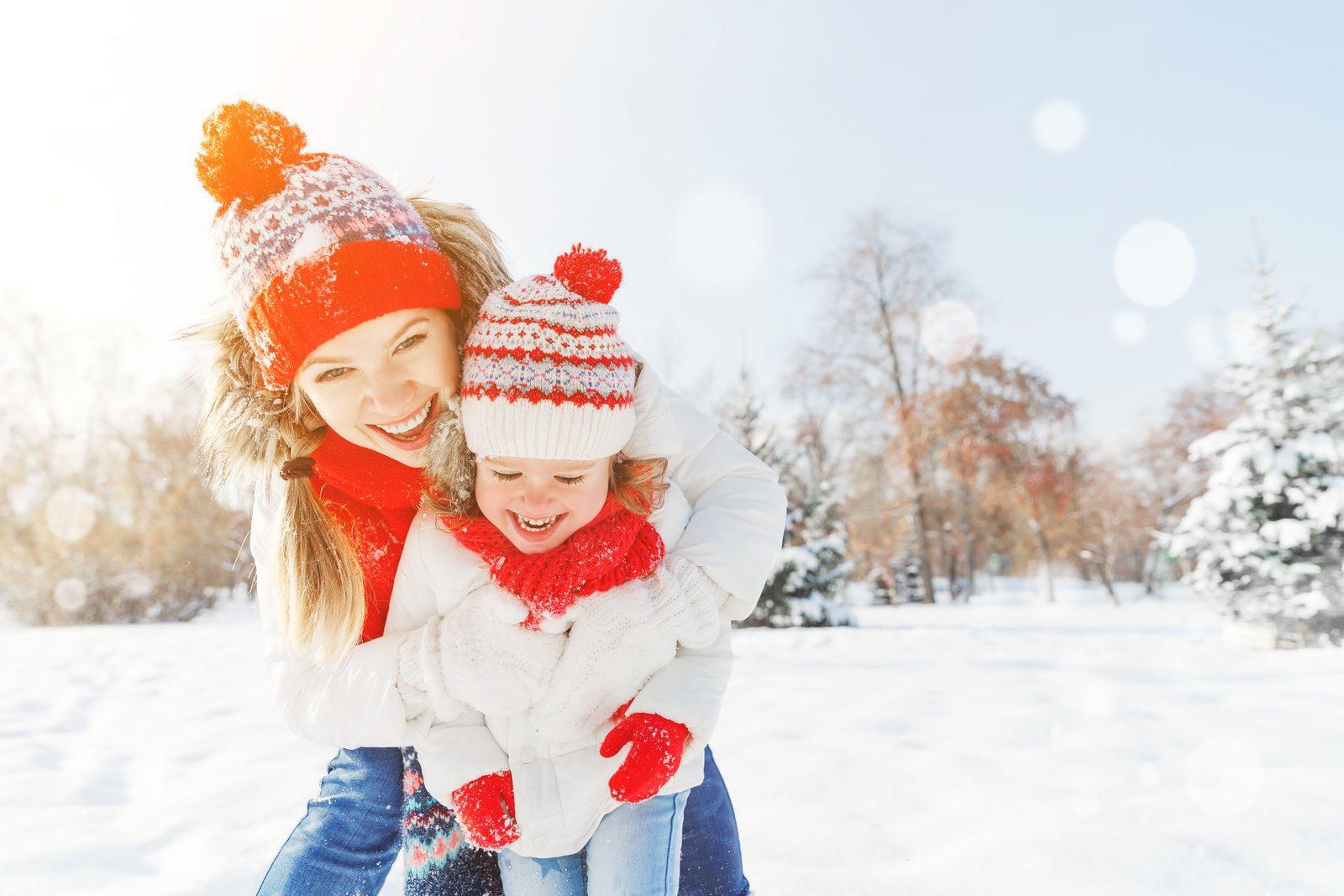Geniet van het mooie winterse landschap in Zuid-Limburg