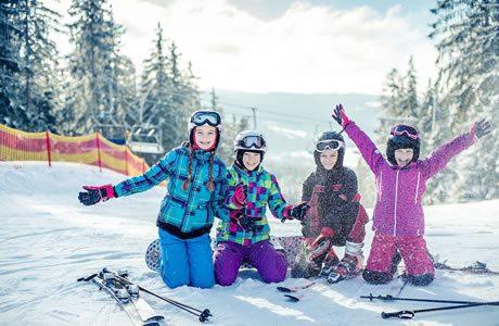 Skigebied Lipno