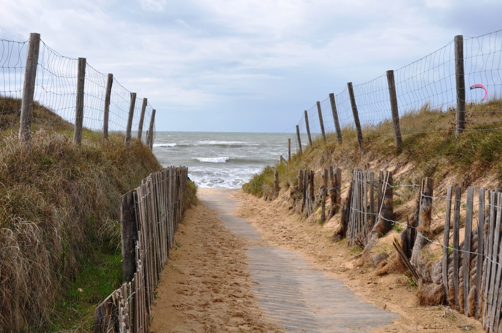 Vakantie, Frankrijk, Charente Maritime, Ile d'Oleron, strand