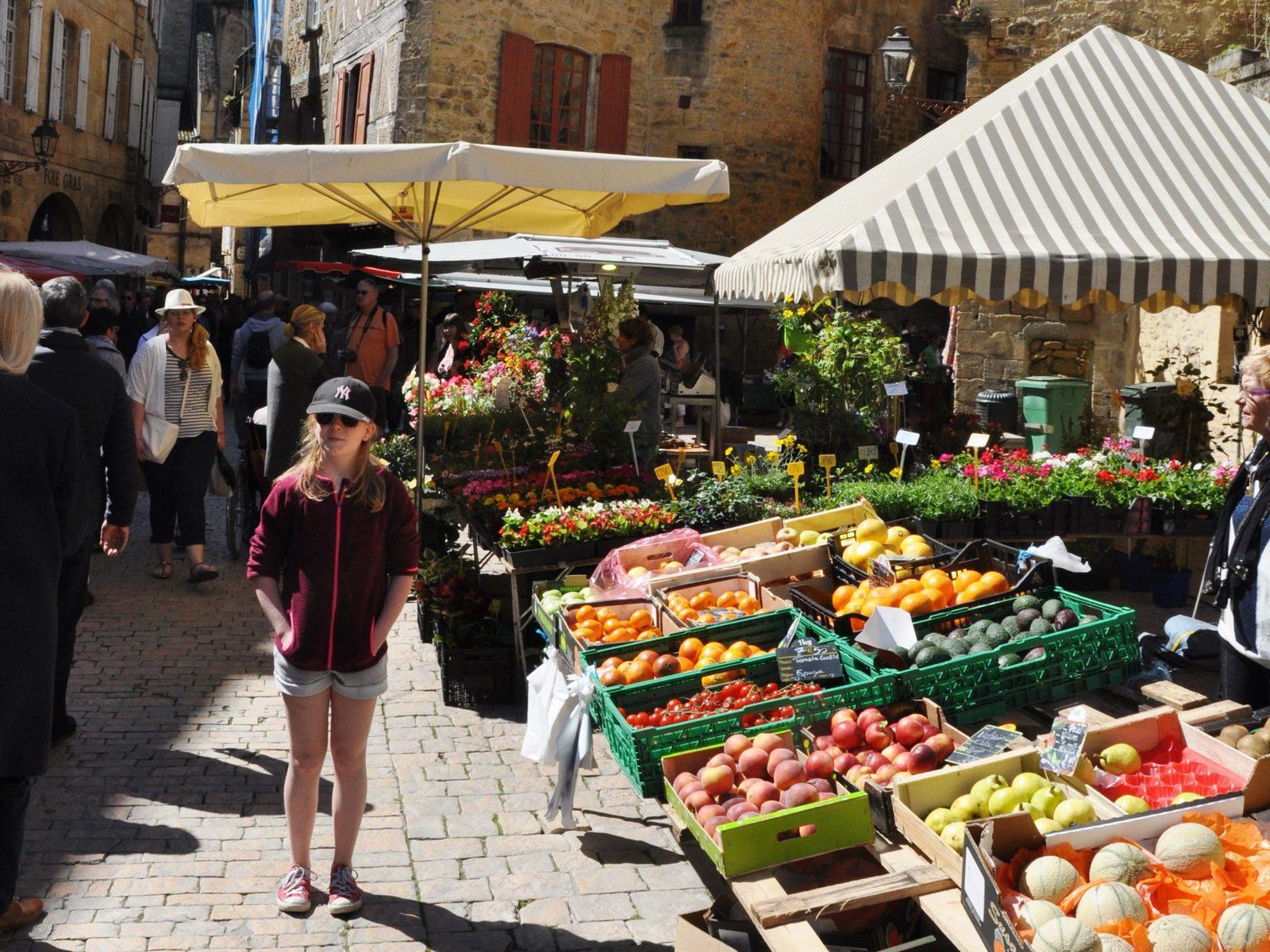 Vakantie, Dordogne, Frankrijk, vakantie met kinderen, vakantiehuizen, marktjes