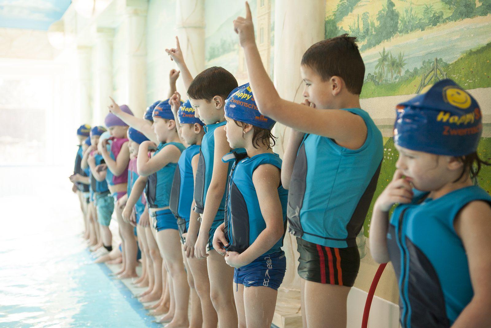 Kinderen halen binnen 2 weken zwemdiploma