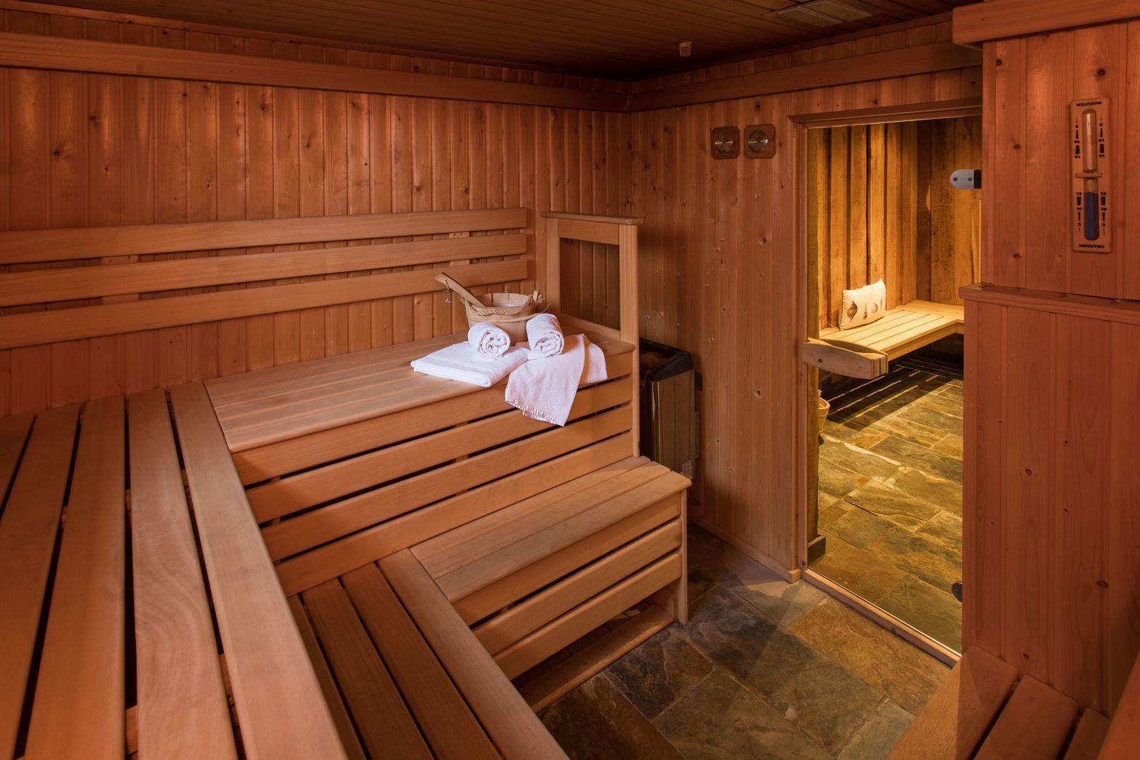 Groepsaccommodaties met sauna
