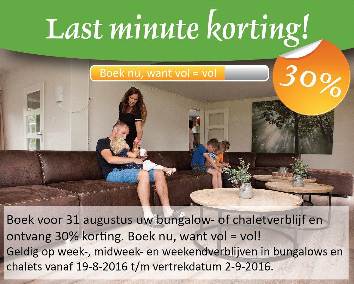Met korting op vakantie in augustus op Recreatiepark De Boshoek
