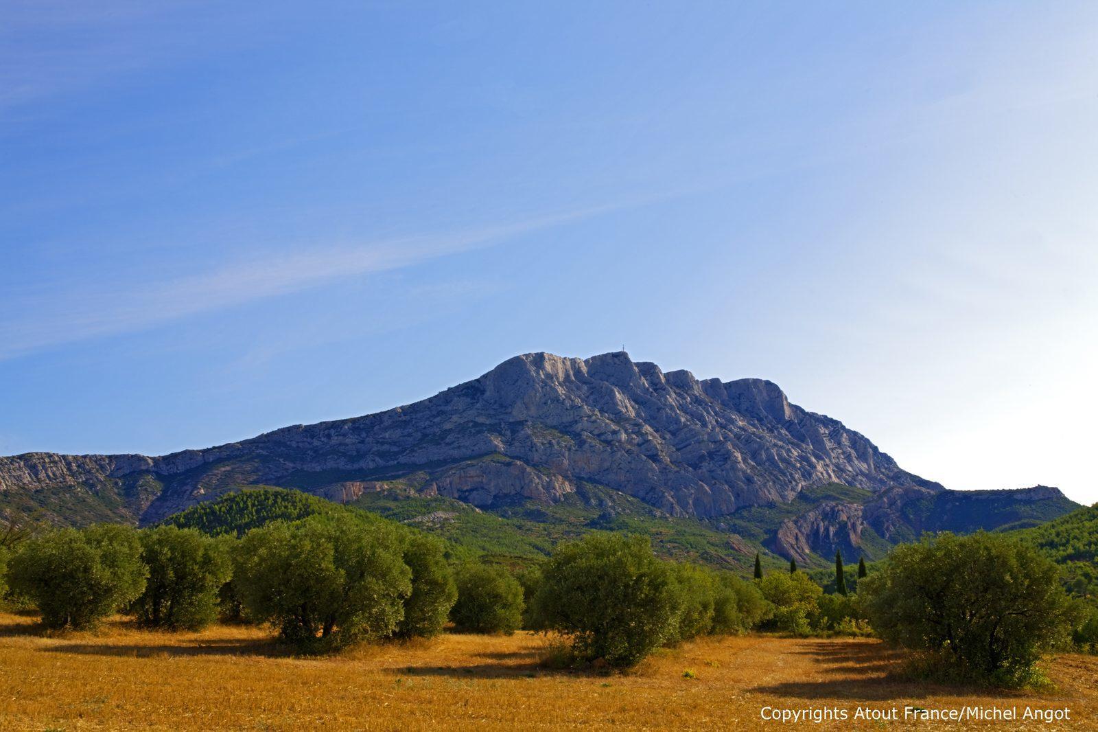 Omgeving van de Luberon, Provence