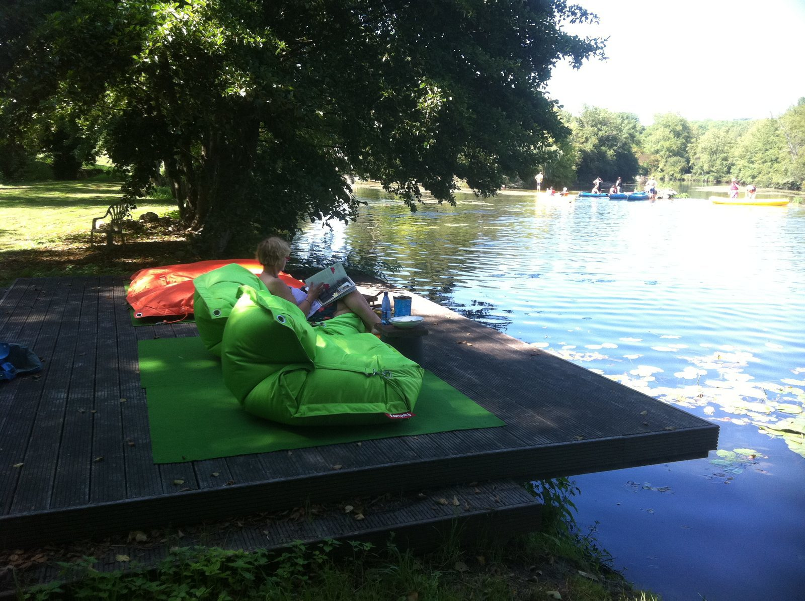Frankrijk, Dordogne, luxe vakantiehuis, natuurlijk zwembad