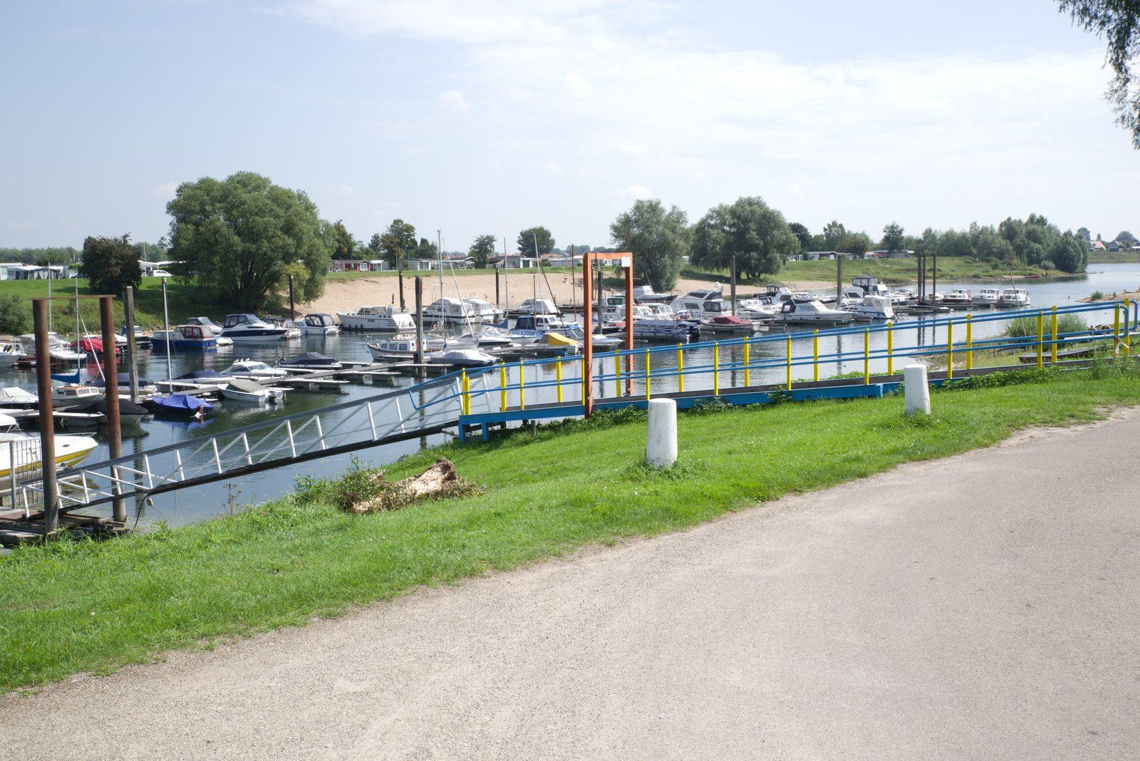 Vakantieparken aan het water