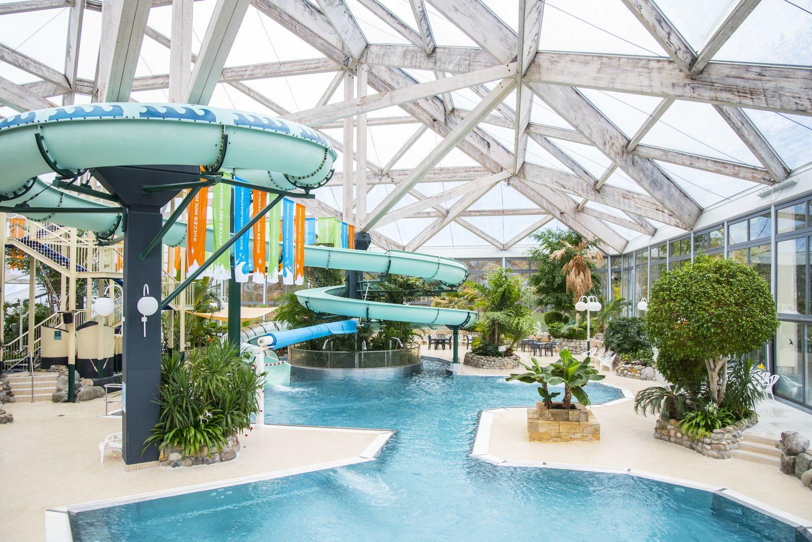 Vakantiepark met subtropisch zwembad Duitsland