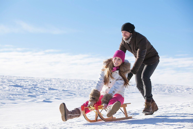 Vakantiepark met wintersport