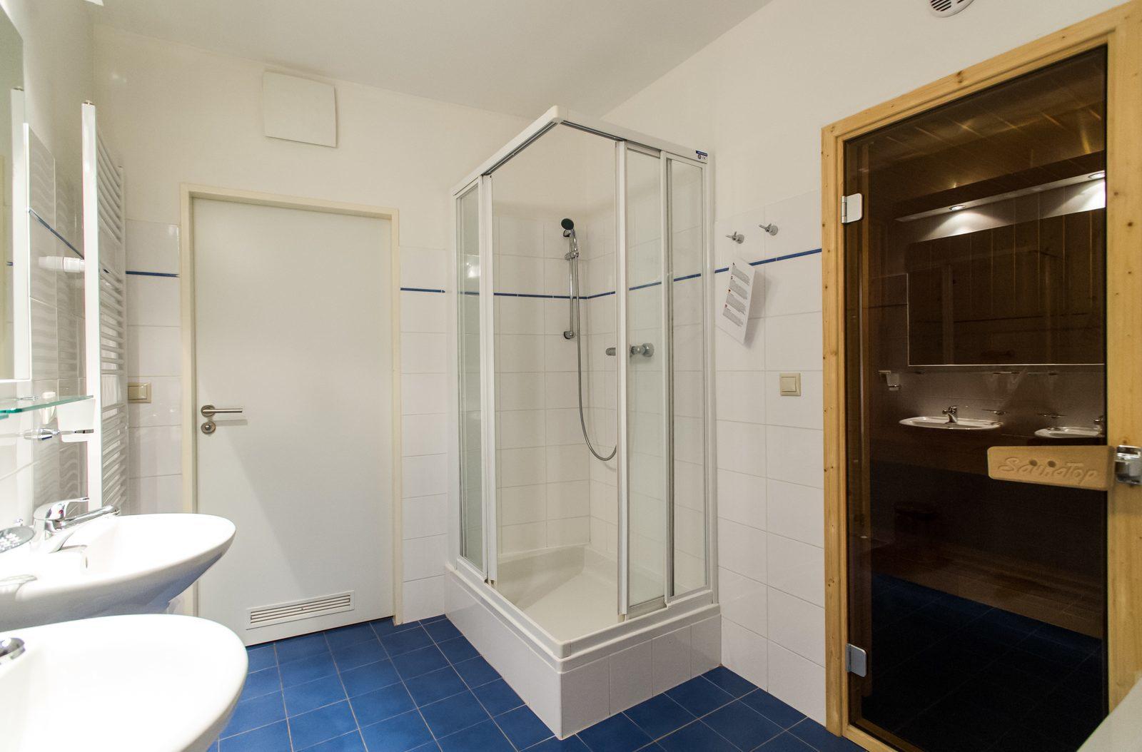 Apartmán 6SXL - koupelna a sauna