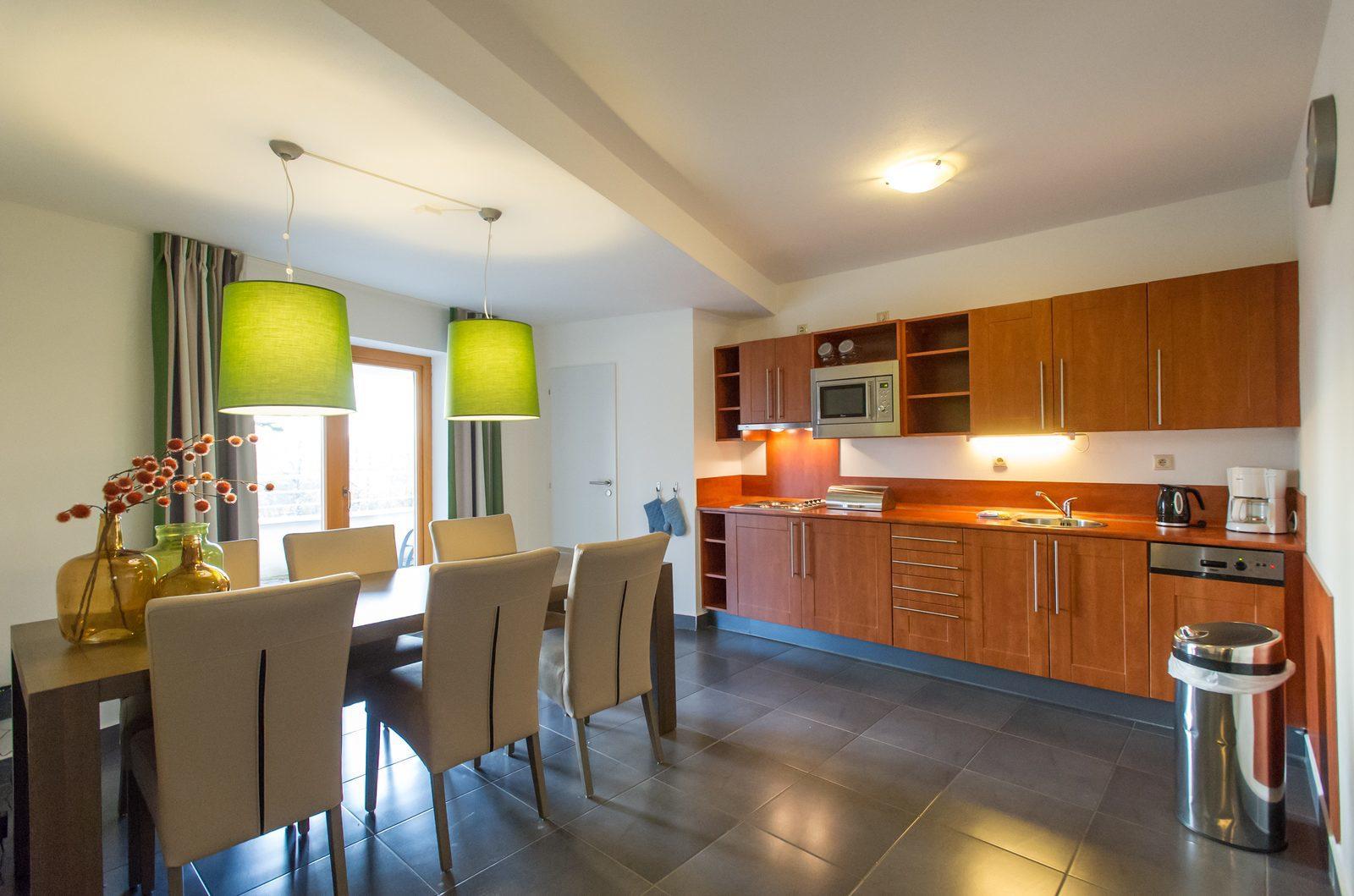 Apartmán 6SXL - kuchyně