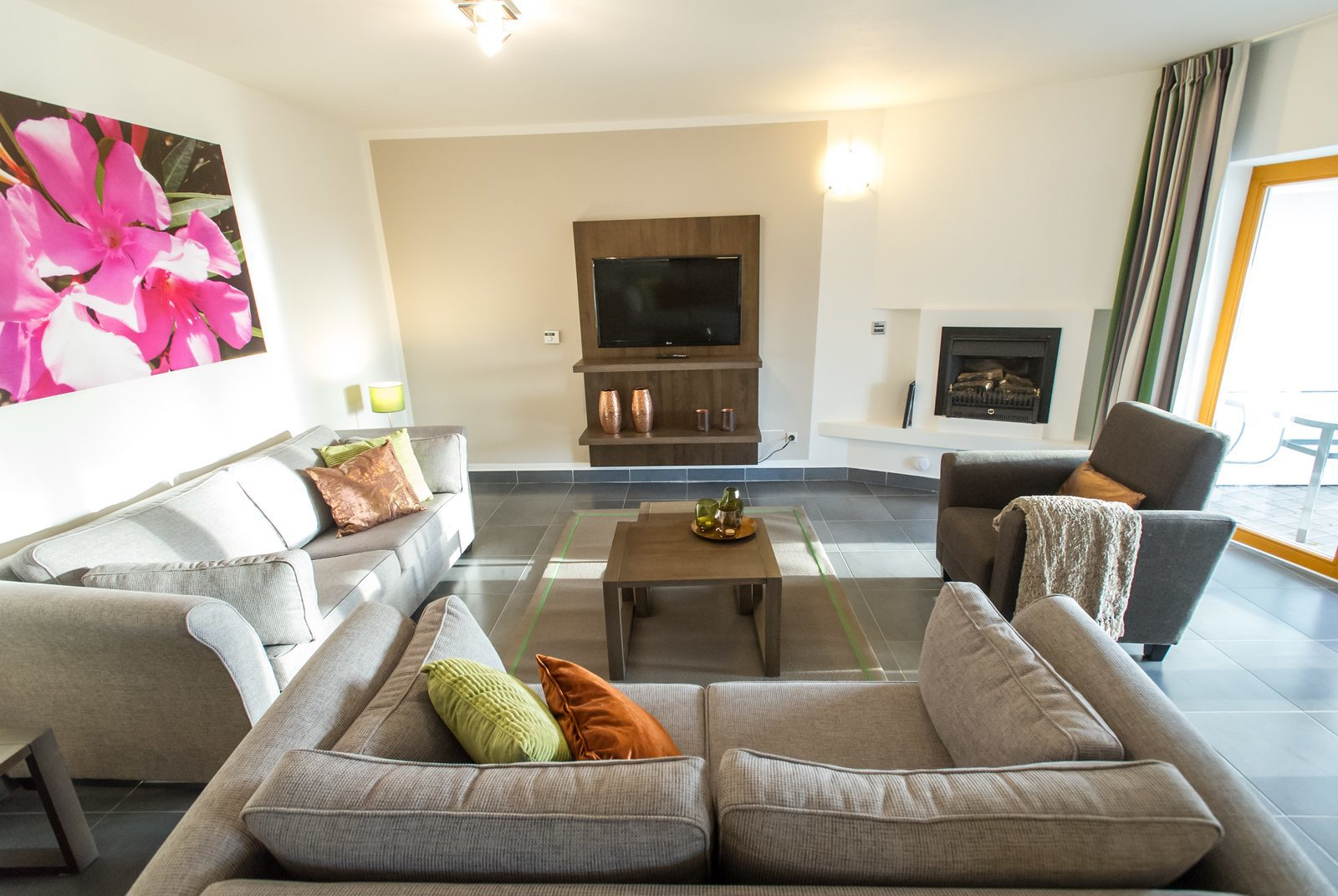 Apartmán 6SXL - obývací pokoj