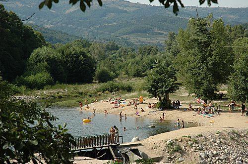 Meertje om te zwemmen tijdens je vakantie in de Ardeche