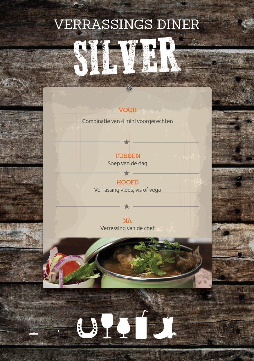 4-gangen Verrassingsmenu Diner in Voorthuizen op De Boshoek