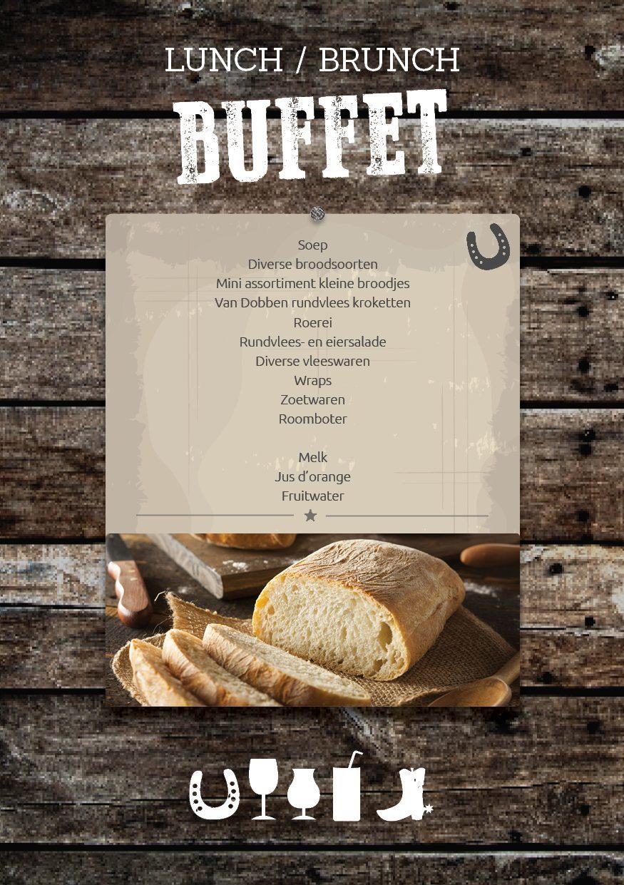 Lunch of Brunch Buffet op de Veluwe bij De Boshoek in Voorthuizen