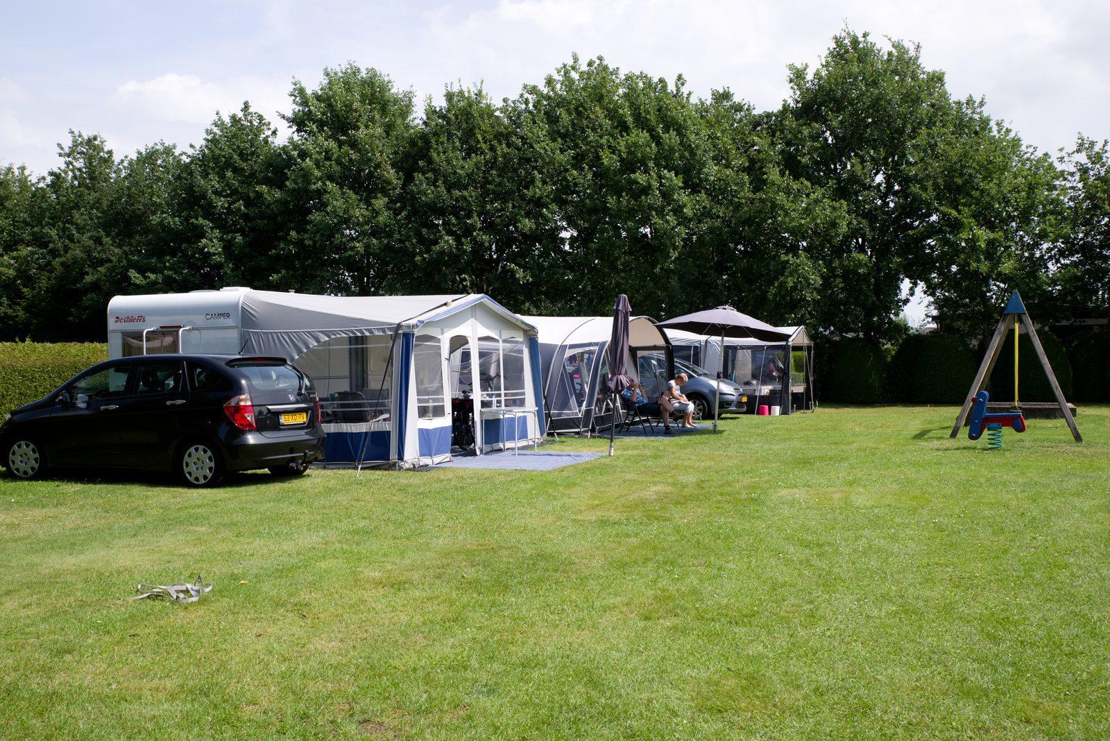 Camping in de omgeving van Assen