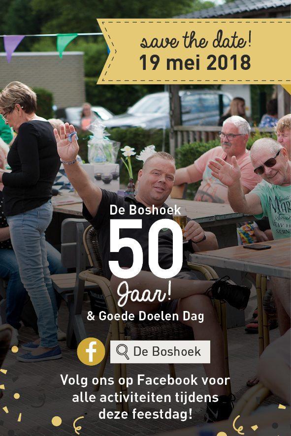 Recreatiepark De Boshoek bestaat in 2018 50 jaar!
