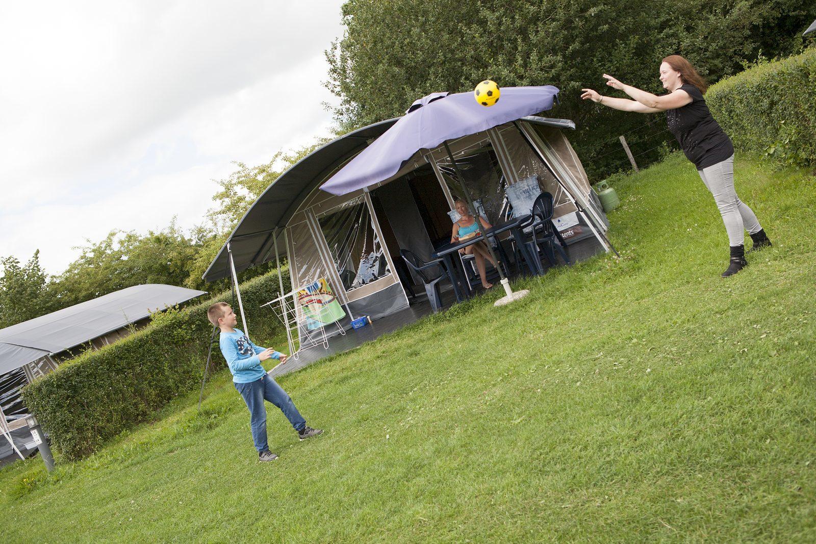Lodgetent vakantie op camping van Recreatiepark De Boshoek