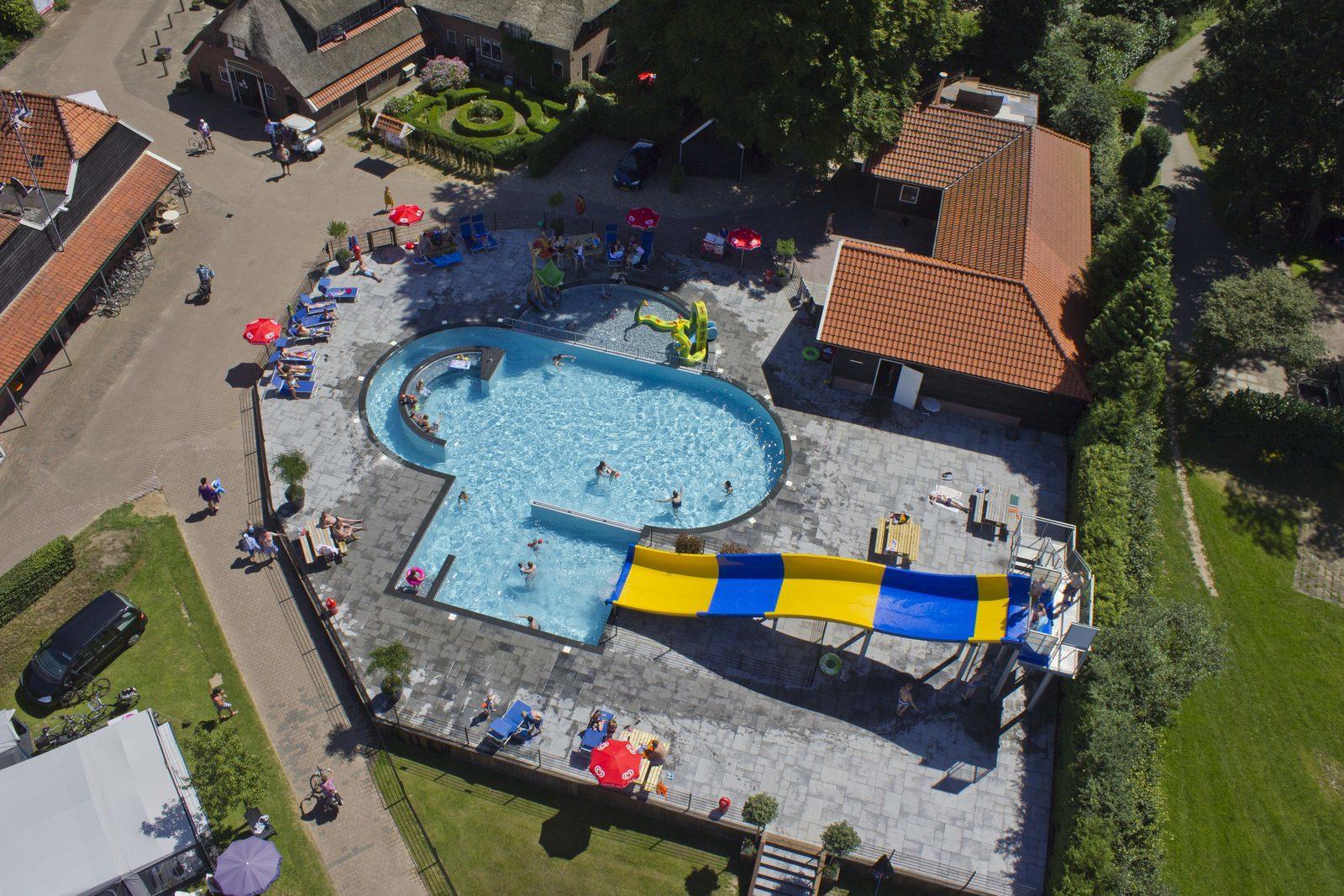 Verwarmd zwembad Camping de Koeksebelt