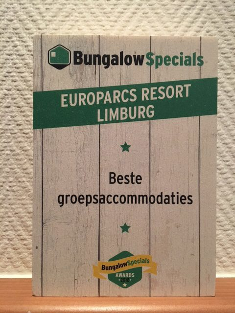 Award voor Resort Limburg!