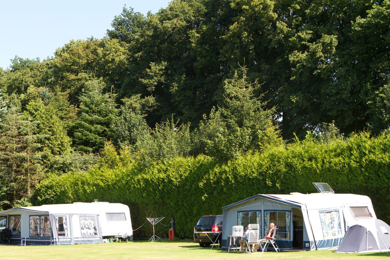 Camping de Koeksebelt aan de Rivier de Vecht