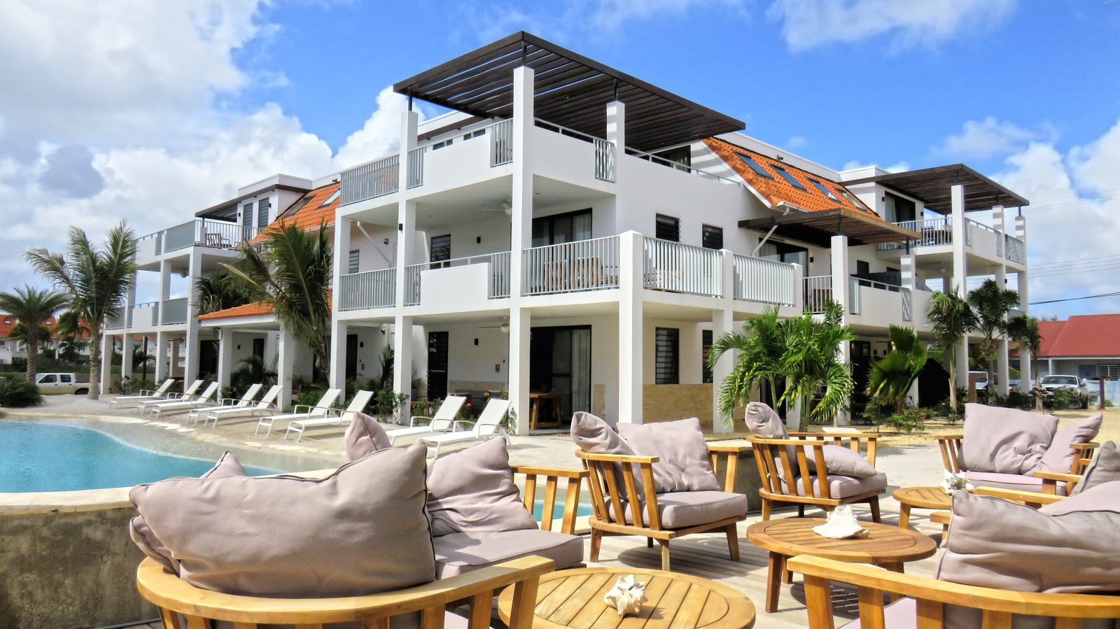 Luxury apartments on Bonaire