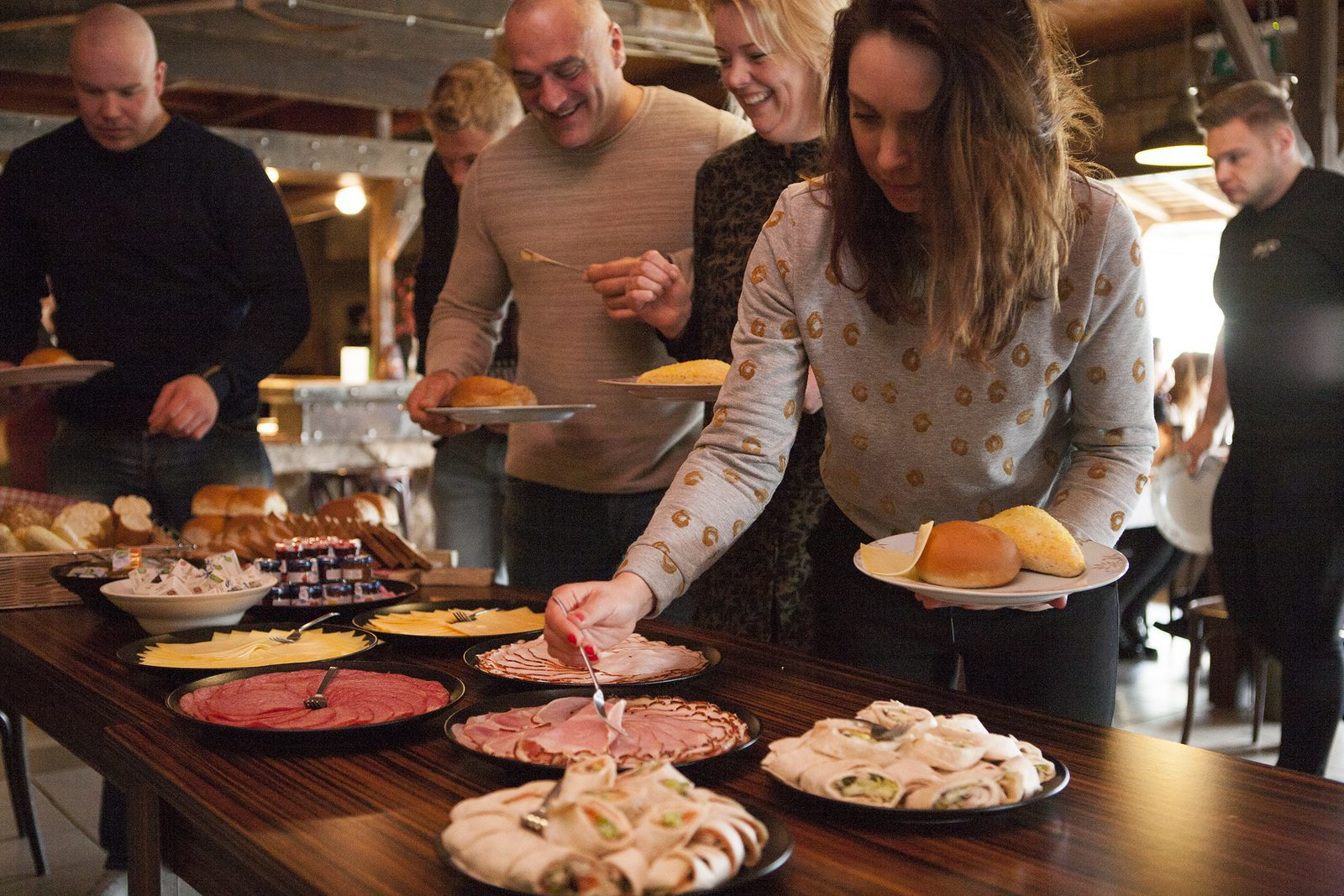 Diverse buffetten voor kleine en grote groepen bij De Boshoek in Voorthuizen