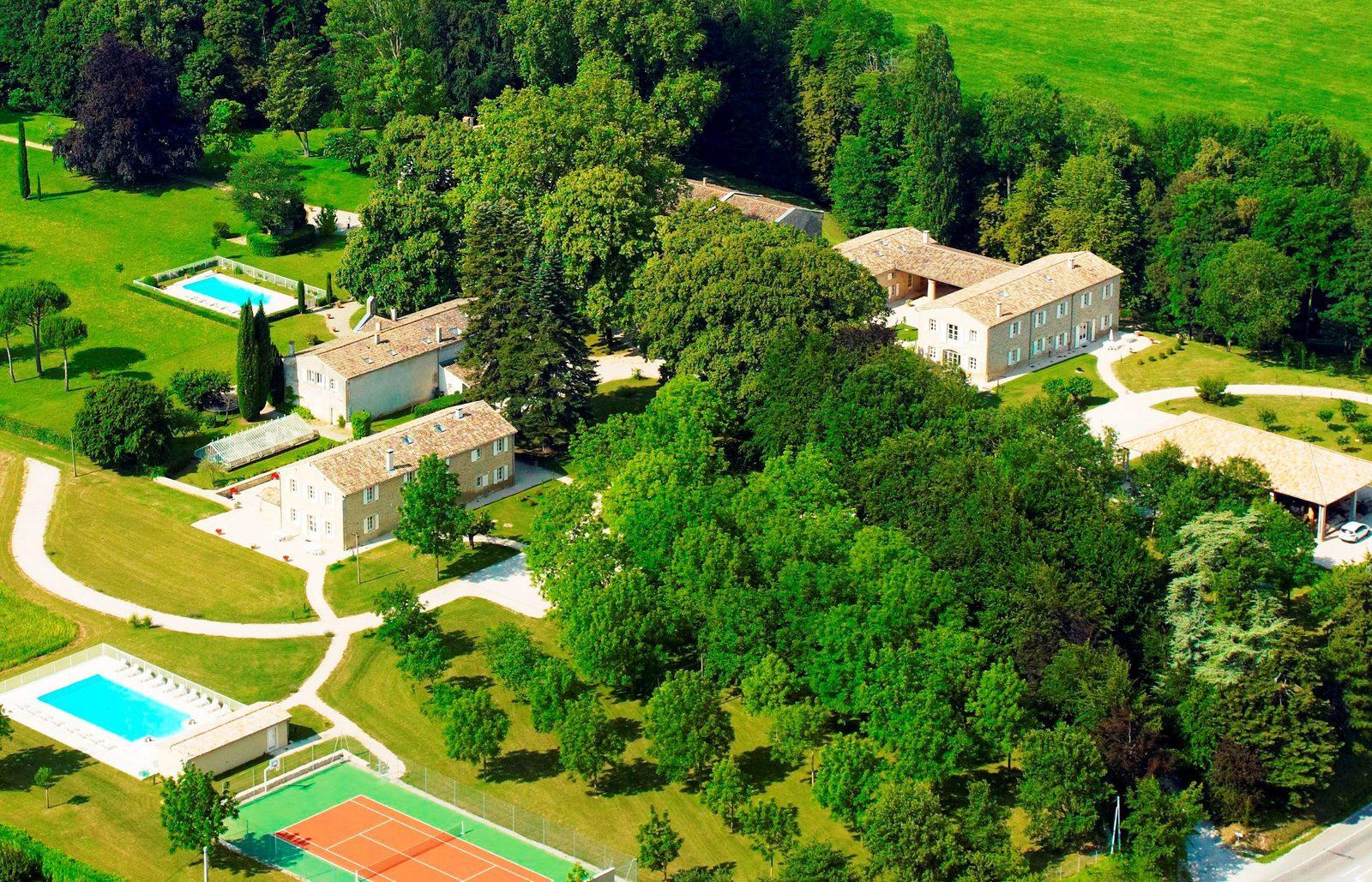 Domaine de Valence, vakantiepark in Drôme Provence