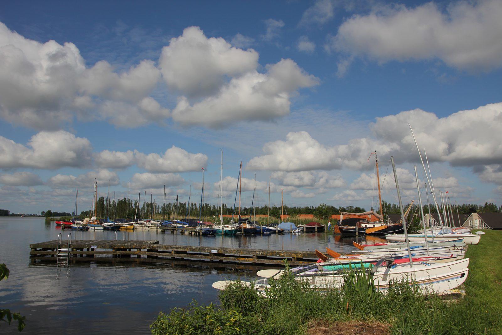 Zeilboot verhuur aan parkgasten