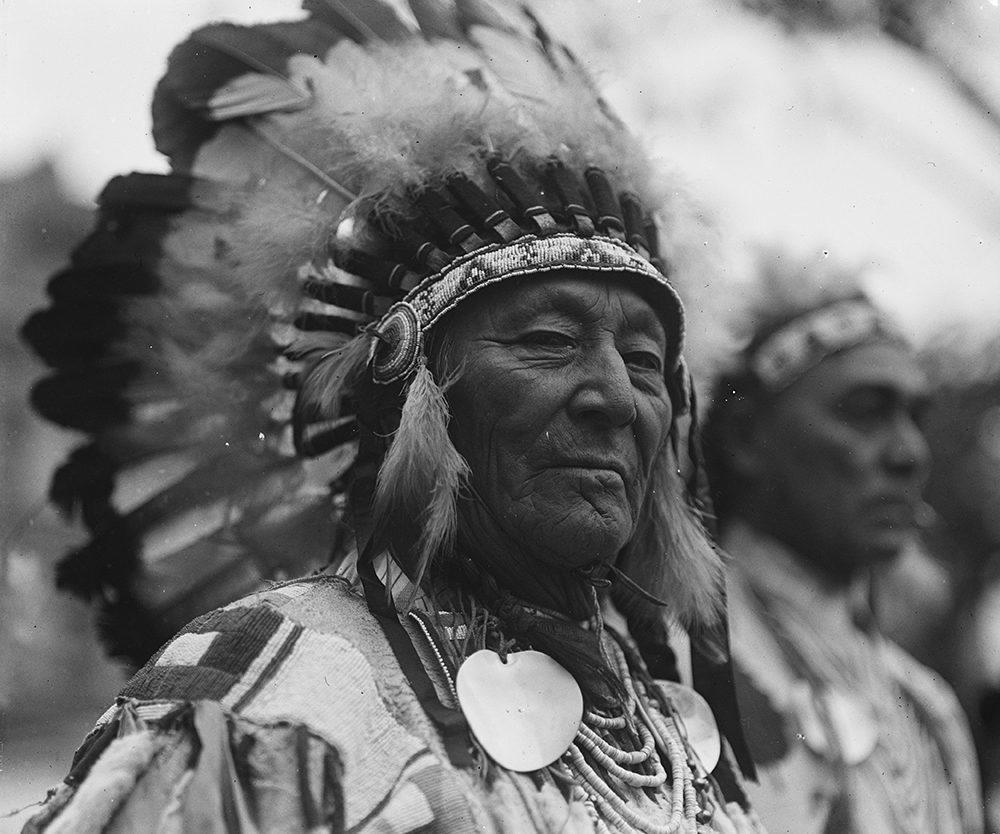 Themadag indianen op recreatiepark de boshoek