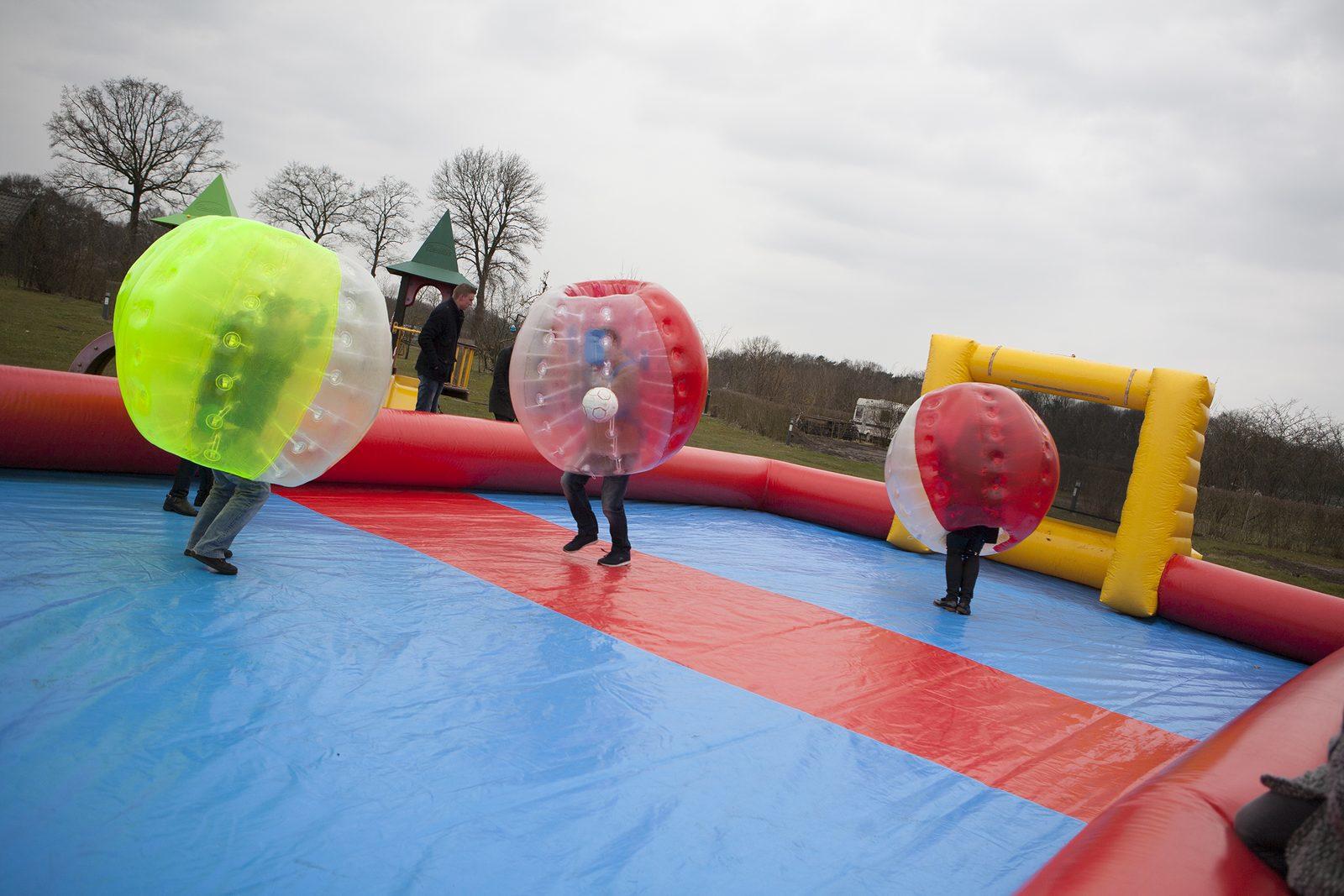 Speel Bumperballz op Recreatiepark De Boshoek in Voorthuizen