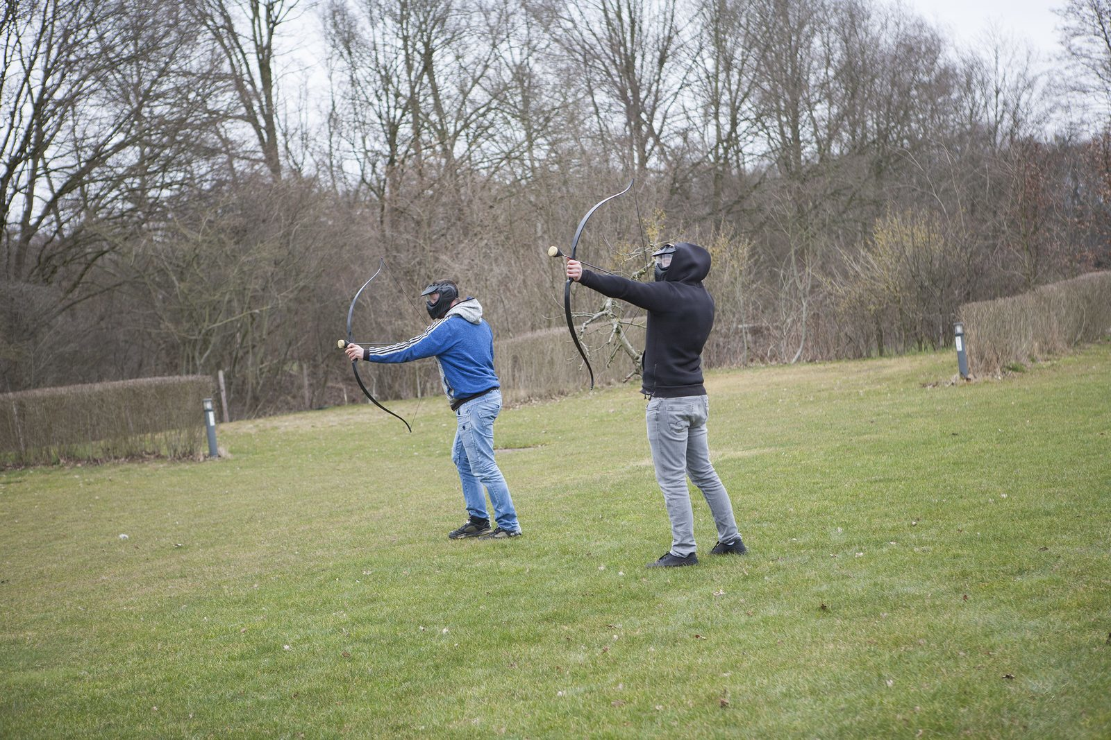 Speel Archery Tag op Recreatiepark De Boshoek in Voorthuizen